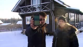Проверяем утепление эковатой  дома из двойного бруса тепловизором(, 2017-01-15T13:30:30.000Z)