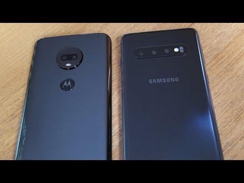 Samsung Galaxy S10 vs Moto G7 - Fliptroniks com