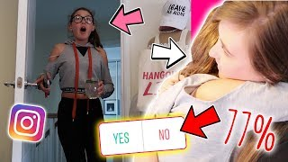INSTAGRAM FOLLOWERS CONTROL 12 YEAR OLDS SURPRISE BEDROOM MAKEOVER!