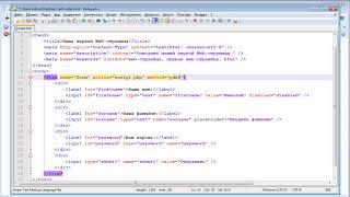 Формы | Видеоуроки по HTML и CSS