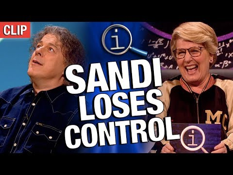 QI | Sandi Loses Control Of The Show