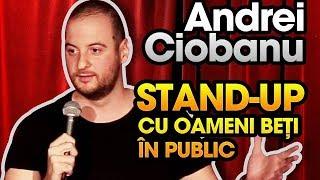 Andrei Ciobanu - Stand-up comedy cu oameni beti in public (Club 99)