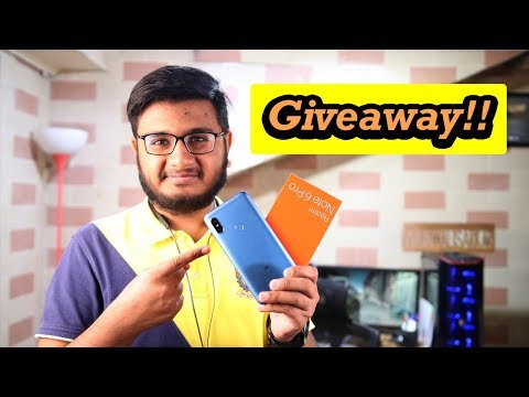 Xiaomi Redmi Note 6 Pro Unboxing + Giveaway!