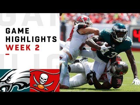 Eagles vs. Buccaneers Week 2 Highlights | NFL 2018