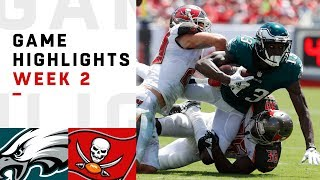 Eagles vs. Buccaneers Week 2 Highlights | NFL 2018