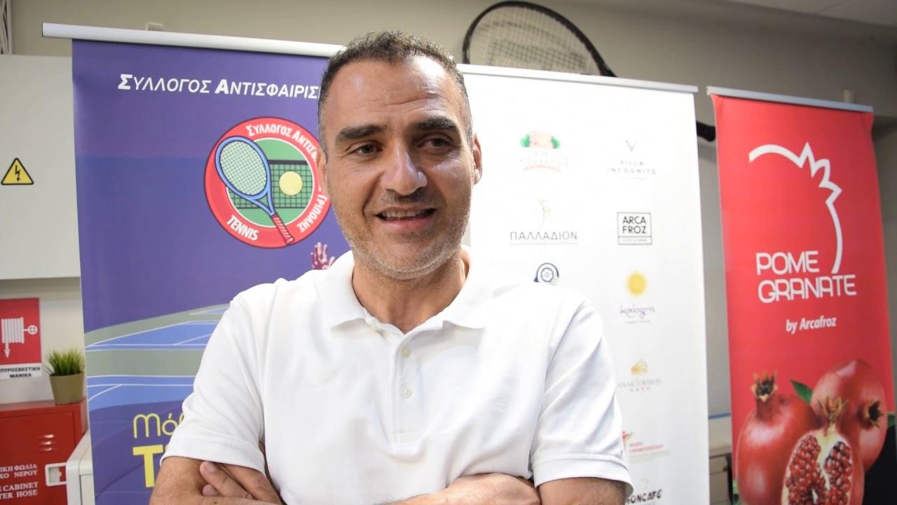 Δηλώσεις Πέτρου Καλτεζιώτη μετά το Tripolis open 2019