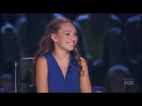 Maddie Ziegler Judging And At Rehearsals For The Duets On SYTYCD: THE NEXT GENERATION! (S13,E7) HD