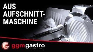 AUS245 Aufschnittmaschine - GGM Gastro