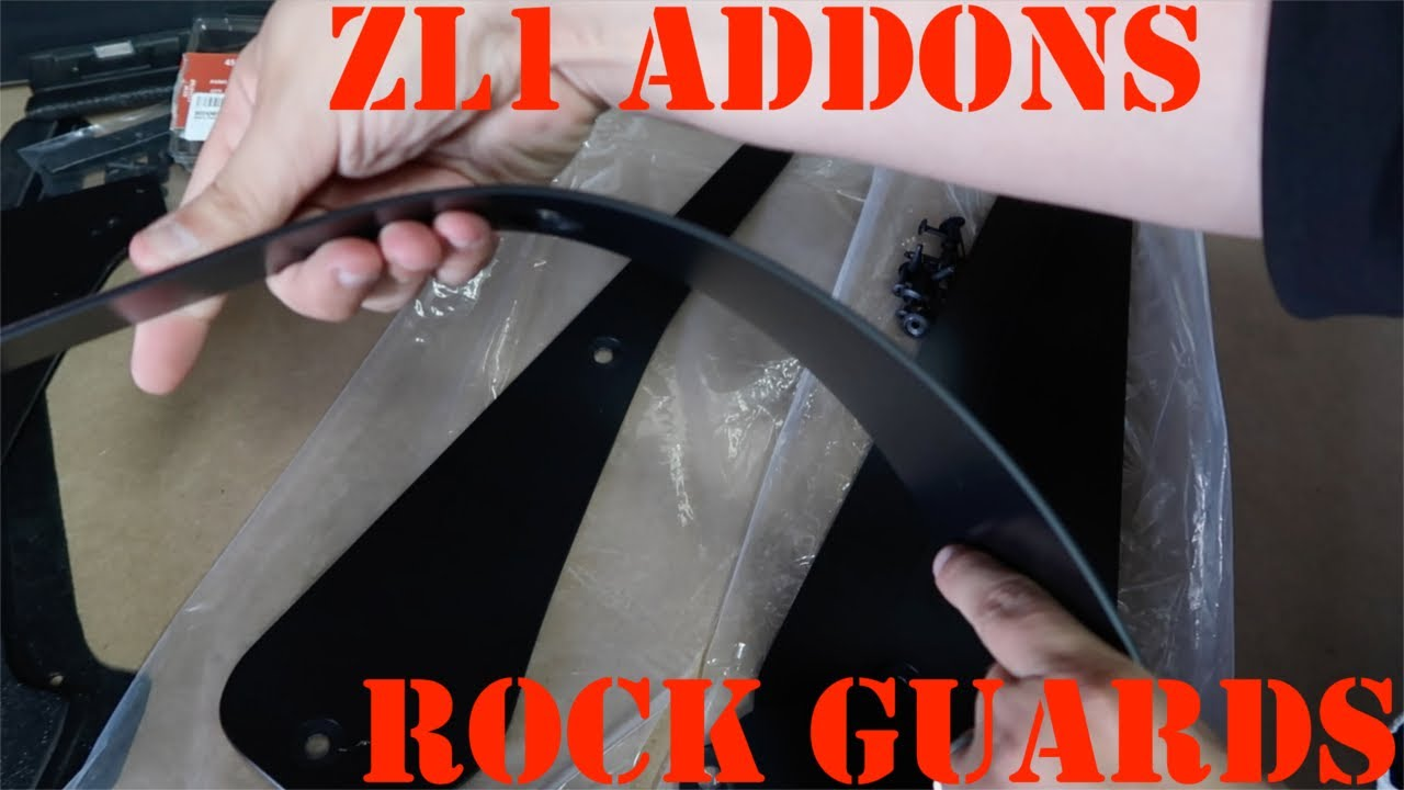 09aa2c619e8 Charger 15-19 Deluxe Rock Guards – ZL1 Addons