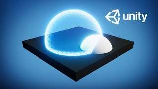 FORCE FIELD in Unity  SHADER GRAPH
