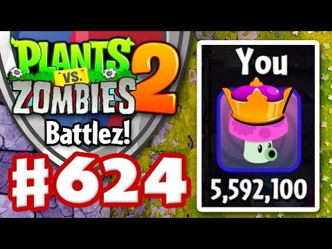 BATTLEZ! New High Score! Over 5.5 Million! - Plants vs. Zombies 2 - Gameplay Walkthrough Part 624