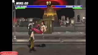 Liu Kang All Bicycle Kicks (MK2-MK9)
