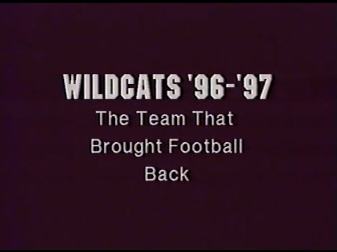 Football Highlights: Whitehouse (TX) Wildcats-1996-97 Season