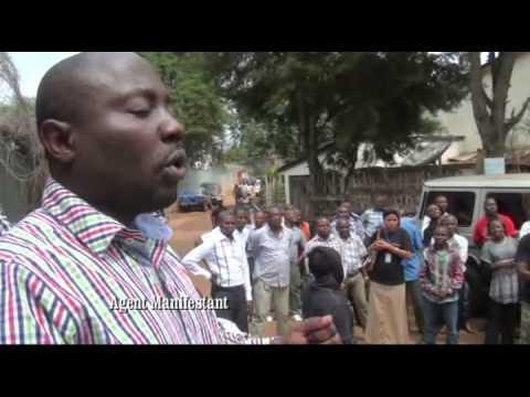 RDC (Sud Kivu) - Les agents de la Monusco poursuivent leur sit-in