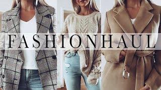 Jacken, Mäntel und Pullover für den Herbst! FASHION HAUL Herbst Outfits   H&M,  Mango, Ivyrevel