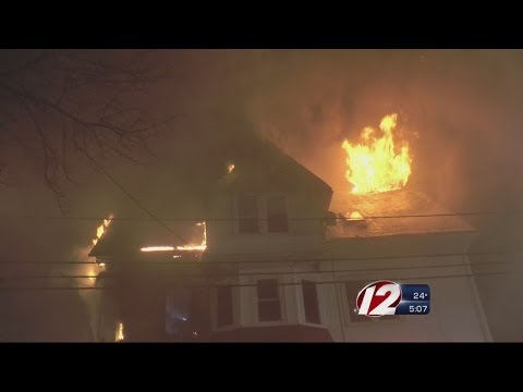 Child plays with fire, burns down family's home