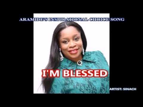 SINACH - I'M BLESSED (LYRICS)