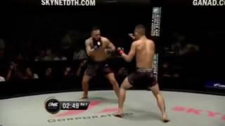 "Anthony ""The Archangel"" Engelen vs Christian Lee ONE Championship Myanmar 2016"