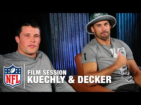 Luke Kuechly & Eric Decker Break Down Film | The Sessions | NFL
