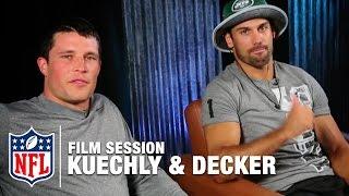 Luke Kuechly & Eric Decker Break Down Film | The Sessions | NFL
