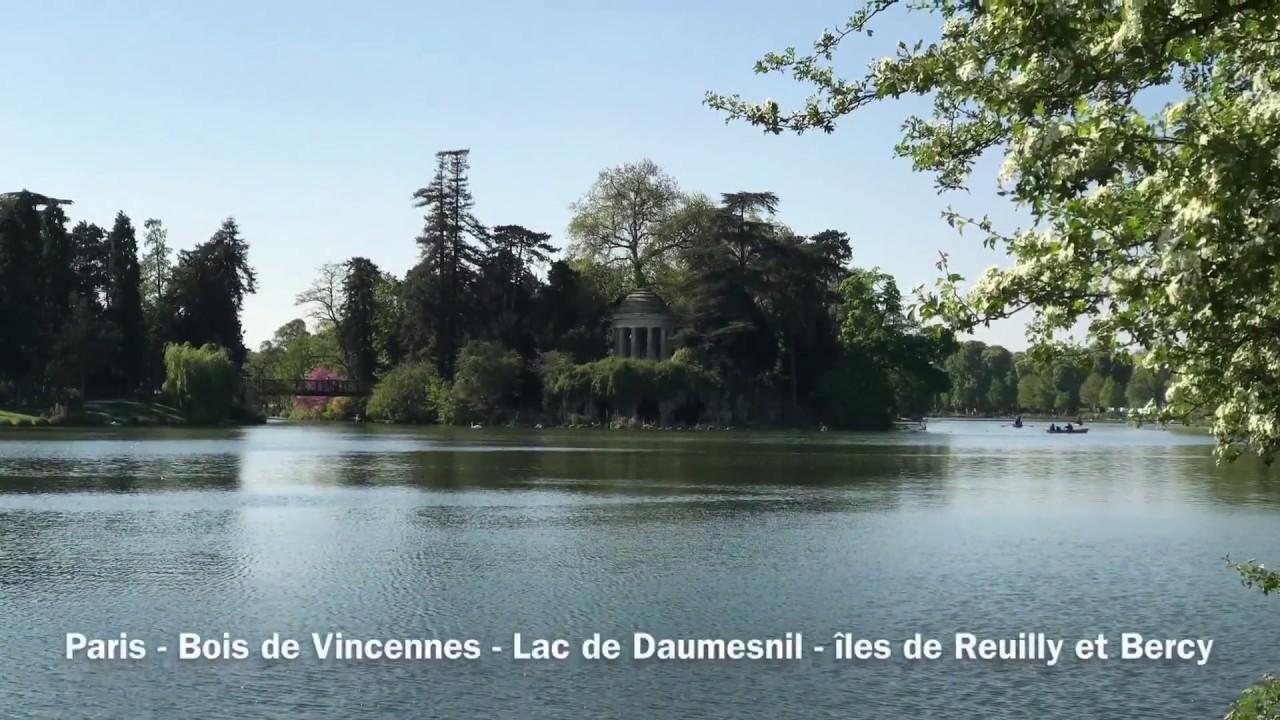 Paris Lac De Daumesnil îles De Bercy Et Reuilly île Aux Oiseaux Bois De Vincennes
