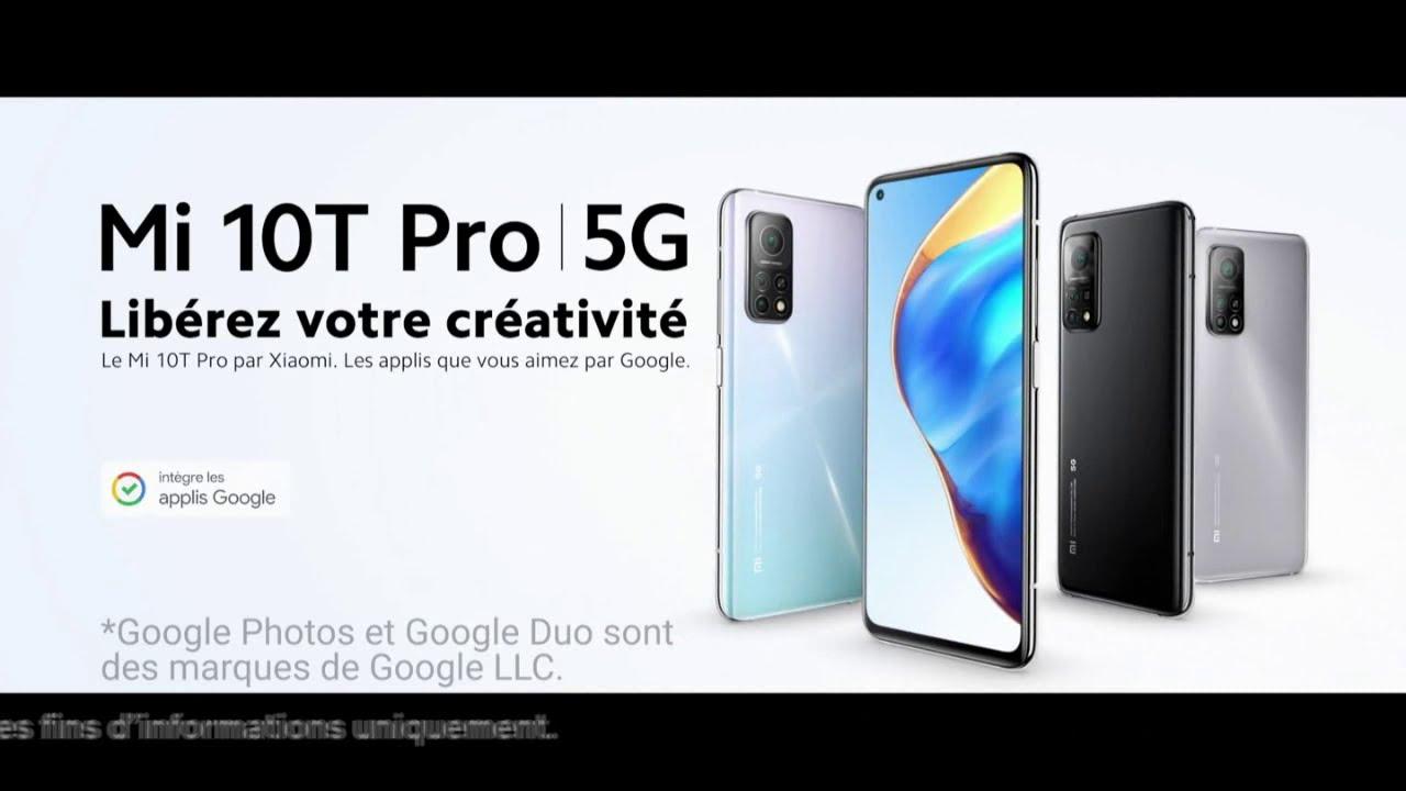 """Musique de la pub Xiaomi Mi 10T Pro 5G """"libérez votre créativité""""  2021"""