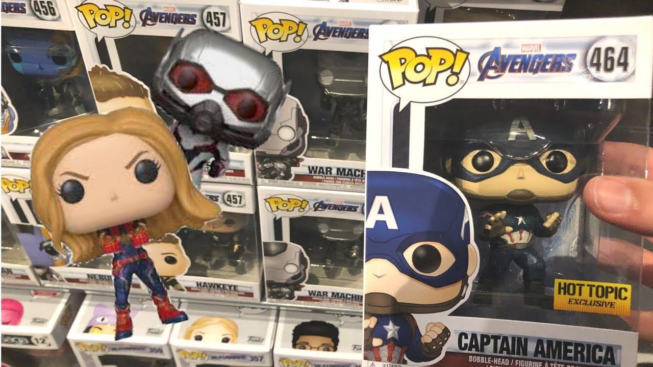 Avengers Endgame Funko Pop Hunting!