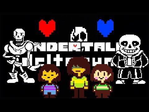UNDERTALE - #10 битва с Ториель геноцид (Руины) (NO COMMENTS)