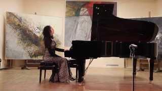 Chopin -- Etida op.25, br.7 Jovana Đorđević, klavir