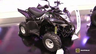 2015 Kymco Maxxer 50 Sport ATV - Walkaround - 2014 EICMA Milan Motorcycle Exhibition