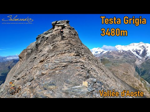 Testa Grigia 3480 m, un sommet hors norme !