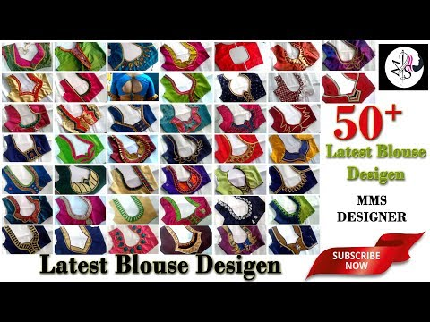 50-simple-and-latest-back-neck-designs-of-a-blouse-|-fashion-design