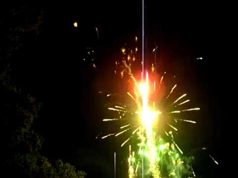 Optimum Fireworks  Oakley Hall Wedding Display