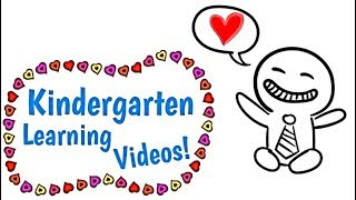 Kindergarten Kids Learning Videos Compilation