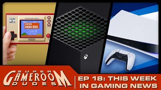 Arcade1UP & AtGames Pinball, Nintendo Game & Watch, PS5 Launch & MORE! | SGRD Ep. 18
