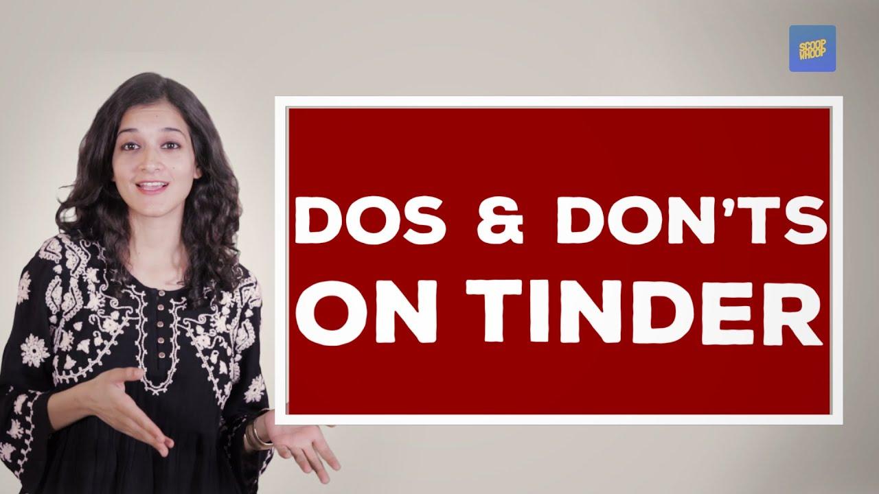 tinder dos and don ts