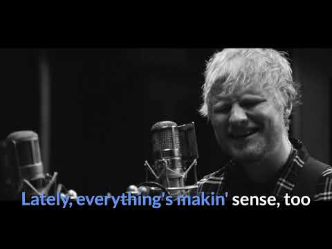 Ed Sheeran - Best Part of Me feat. YEBBA (Sing-along Oficial)