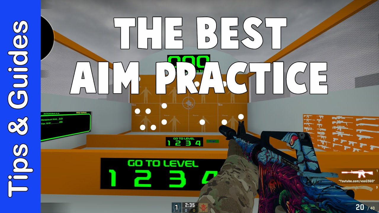 The BEST Aim Practice Map & Settings