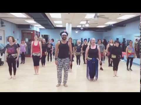 Fabio Barros belly dance choreo for Gimme Gimme by Inna