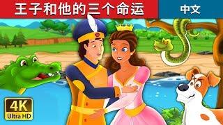 王子和他的三个命运 | The Prince and the Three Fates Story | 睡前故事 | 中文童話