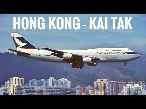 """HONG KONG KAI TAK  - The """"Heart Attack Approach"""""""