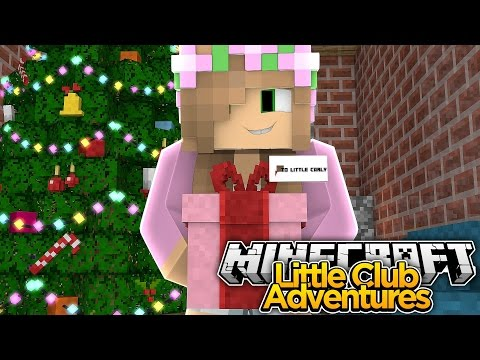 Little Kelly's Christmas Present to Little Carly - Minecraft Little Club Adventures