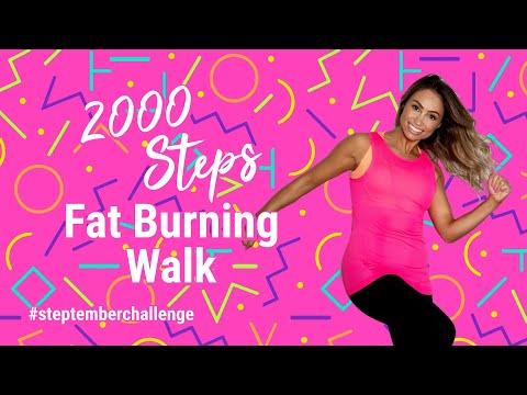 Get 2000 STEPS | #STEPtember Challenge ��HIGH SWEAT + LOW IMPACT �� Fat Burning Walking Workout��