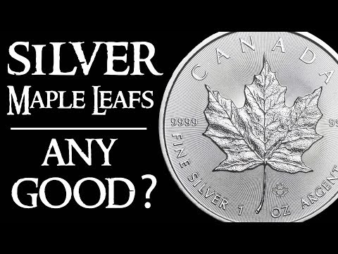 Are Canadian Silver Maple Leaf Coins Good For Silver Stacking?