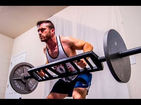 Training with the Multi Grip American Barbell