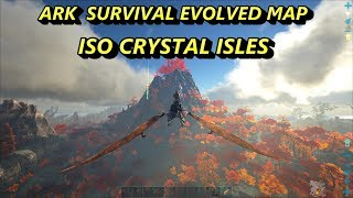 Ark Survival Evolved MAPS - ISO CRYSTAL ISLES