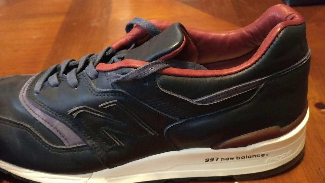 free shipping 0793e d1c25 New balance 997 Horween leather... Last YouTube video