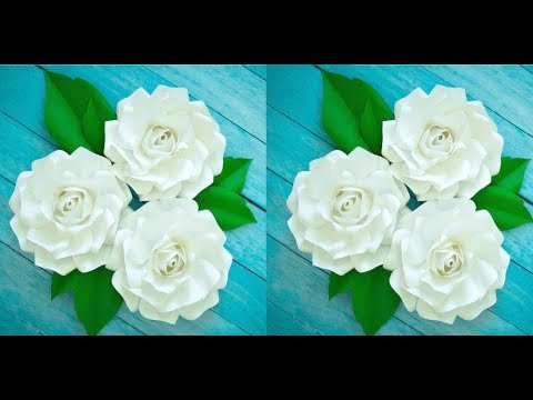 Small Alora Paper Rose. Step by step easy paper rose tutorial