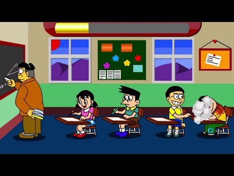 game kid nobita in the class