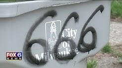 Satanic symbols spray painted in Milwaukee neighborhood after Easter